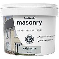 GoodHome Classic Oklahoma Smooth Matt Masonry paint 10L