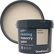 GoodHome Self-cleaning Campinas Smooth Matt Masonry paint 10L