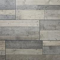 GoodHome Dunwich Grey Oak effect Laminate flooring, 2.18m² Pack
