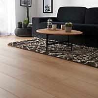 GoodHome Malton Natural Oak effect Laminate flooring, 1.74m² Pack