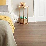 GoodHome Padiham Brown Oak effect Laminate flooring, 1.64m² Pack