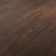 GoodHome Swanley Brown Natural oak effect Laminate flooring, 1.29m² Pack