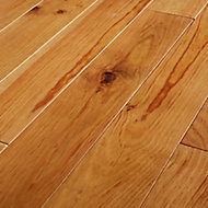 GoodHome Granna Natural Pine Solid wood flooring, 0.96m² Pack