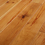 GoodHome Granna Natural Pine Solid wood flooring, 0.96m2 Pack