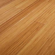 GoodHome Rayong Natural Bamboo Solid wood flooring, 2.21m² Pack