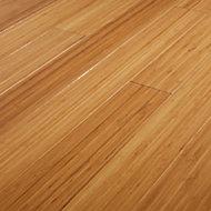 GoodHome Rayong Natural Bamboo Solid wood flooring, 2.21m2 Pack