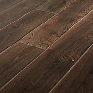 GoodHome Orford Grey Oak effect Laminate flooring, 1.76m² Pack