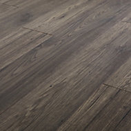 GoodHome Shildon Oak effect Laminate flooring, 1.76m² Pack