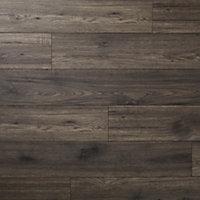 GoodHome Shildon Oak effect Laminate flooring, 1.76m² Pack