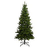 7.5ft Eiger Natural looking Artificial Christmas tree