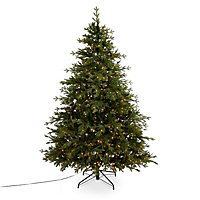 7ft 6in Thetford Natural looking Artificial Christmas tree