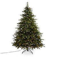 7ft 6in Thetford Pre-lit artificial Christmas tree