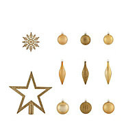 Gold Assorted Decoration, Pack of 50
