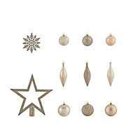 Champagne Assorted Decoration, Pack of 50
