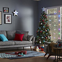 Battery-powered Colour changing star Tree topper