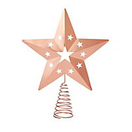 Copper Star Tree topper