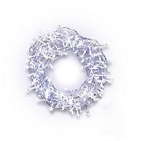 240 Ice white LED String lights