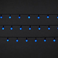 120 Blue LED Berry String lights