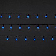 240 Blue LED Berry String lights
