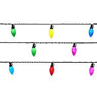 60 Multicolour LED String lights