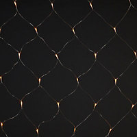 120 Warm white LED Net String lights