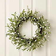50cm Mistletoe Wreath
