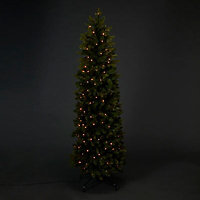 6ft Holimont Pop up & Pre-lit LED Christmas tree