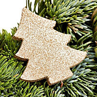 45cm Orange & cinnamon Christmas wreath