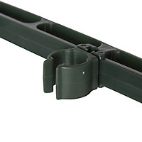 Verve Plastic Cross arm Plant support, Pack of 9