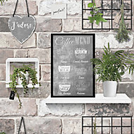 GoodHome Cloris Multicolour Wall hangings Textured Wallpaper