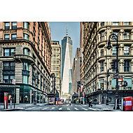 GoodHome Althea Multicolour New York Matt Mural
