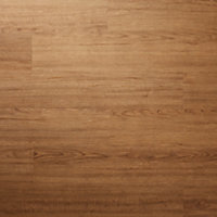 GoodHome Poprock Natural honey Wood effect Self adhesive Vinyl plank, 0.97m² Pack