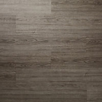 GoodHome Poprock Grey Wood effect Self adhesive Vinyl plank, 0.97m² Pack