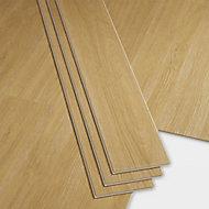 GoodHome Bachata Honey Wood effect Luxury vinyl click flooring, 2.56m² Pack