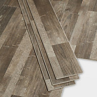 GoodHome Bachata Natural Wood effect Luxury vinyl click flooring, 2.56m² Pack