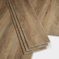 GoodHome Jazy Honey Wood effect Luxury vinyl click flooring, 2.24m² Pack