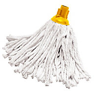 Grey & yellow Mop head, (W)120mm