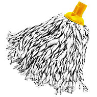 Grey & yellow Twist mop head, (W)100mm