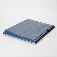 Blue Tarpaulin, (L)5m (W)4m