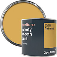 GoodHome Chueca Flat matt Furniture paint, 0.5L