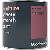 GoodHome Magome Flat matt Furniture paint, 0.5L