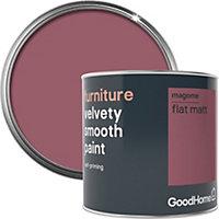 GoodHome Magome Flat matt Furniture paint 500ml