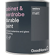 GoodHome Durable Sedona Matt Cabinet & wardrobe paint, 0.75L