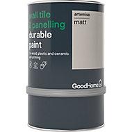 GoodHome Durable Artemisa Matt Wall tile & panelling paint, 0.75L