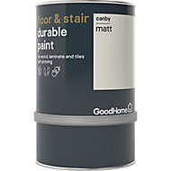 GoodHome Durable Canby Matt Floor & stair paint, 0.75L