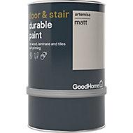 GoodHome Durable Artemisa Matt Floor & stair paint, 0.75L