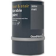 GoodHome Durable Sedona Matt Floor & stair paint, 0.75L
