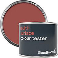 GoodHome Fulham Satin Multi-surface paint, 0.07L