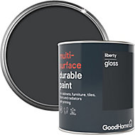 GoodHome Durable Liberty Gloss Multi-surface paint, 0.75L