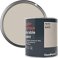 GoodHome Durable Tijuana Satin Multi-surface paint, 0.75L